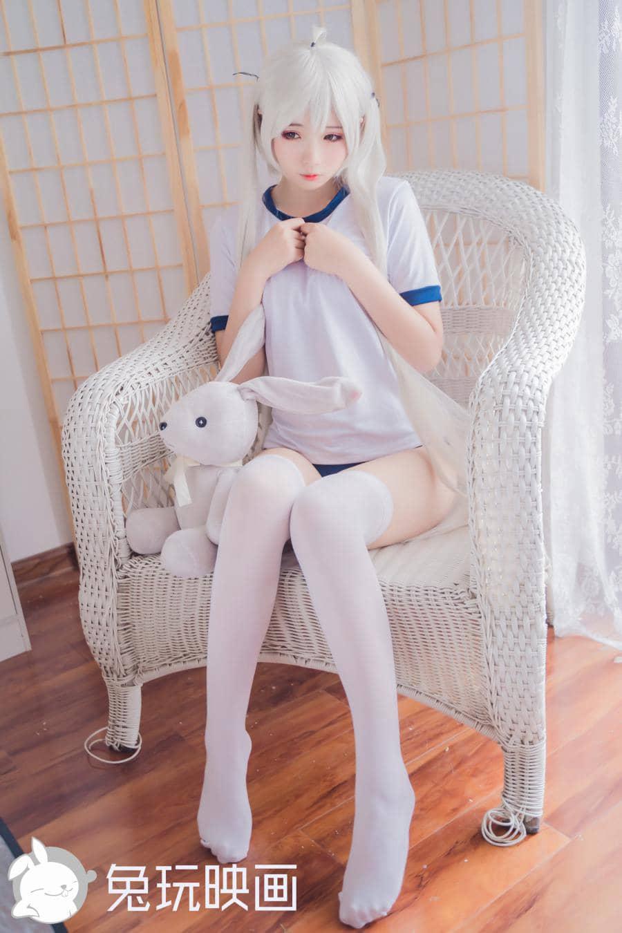 兔子玩映画穹妹体操服[40P416M]