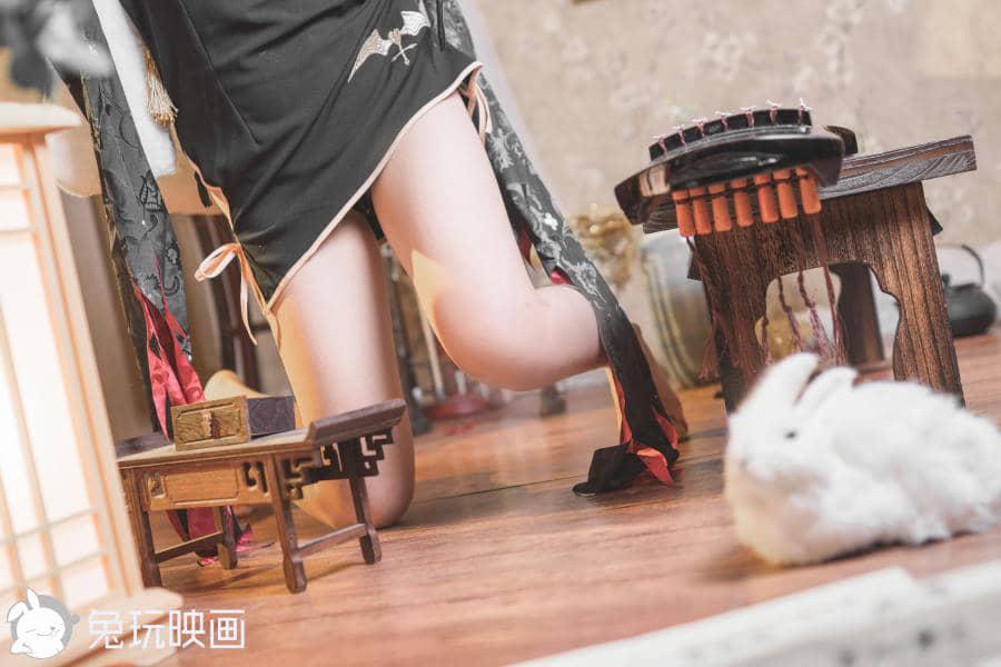 兔玩映画旗袍萝莉[40P534M]插图