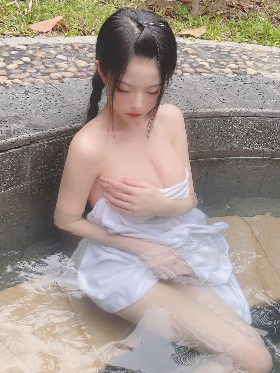清水由乃NO.011温泉浴巾[26P1V233M]插图